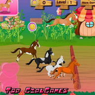 Horse Racing Mania - Girl game