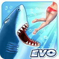Hungry Shark Evolution - Become a great white shark and terrorize beach-goers