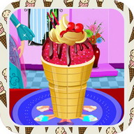 ice cream cone decoration