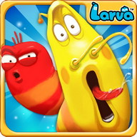 Larva Heroes - A group of larvae against the world