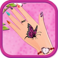 Manicure salon girls games
