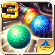 Marble Blast 3 - Match and destroy marbles in this colorful arcade game