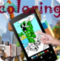 Minecraft coloring for kids