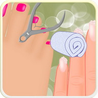 nails spa games