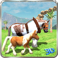 Pony Horse Simulator Kids 3D
