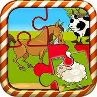 Puzzle Game Farm Animals