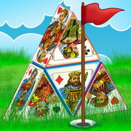 Pyramid Golf Solitaire