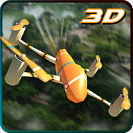 Rescue Drone Quadcopter Sim 3D