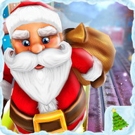 De Santa Run Xmas Subway Surf