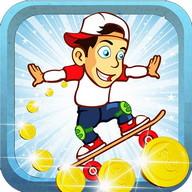 Skate Surfer Boy
