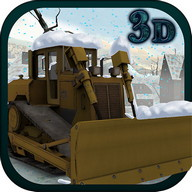 Snow Plow Truck Simulator 3D