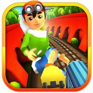 3D Subway Boy Run Rail Dash