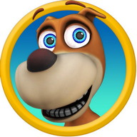 Talking Dog - Have a fun conversation with this silly pet dog