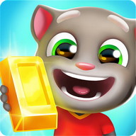Talking Tom: Gold Run - Run through the streets and collect all the gold