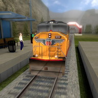 Train Driver Simulator - Come and go on this lovely train