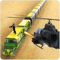列車の砲手の兵士の3D