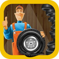 Tyre Repair Shop – Garage Game