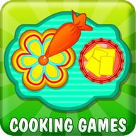 Sweet Flower Cookies Cooking