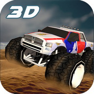 4x4 Offroad Wüsten Stunt Truck