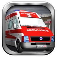 Ambulans 3d araba oyunları