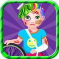 Baby Juliet Bike Accident