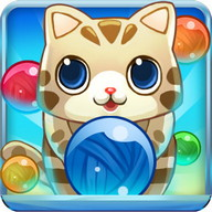 Bubble Cat Rescue - A Puzzle Bubble with cute cats