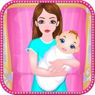 出産赤ちゃんのゲームを提供します