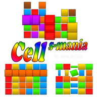 Cells-mania - Get rid of all the colored blocks to create a new shape