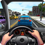 City Driving 3D - Drive your car through a 3D city