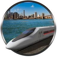 bandar pemandu keretapi peluru