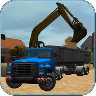 Construction Truck 3D: Sand