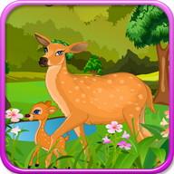 鹿出生女の子のゲーム