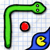 Doodle Snake - The classic snake game but with cool graphics