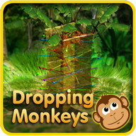Dropping Monkeys 3D Board Game - Play Together