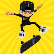 Epic Skater - Skate around the entire city in 2D