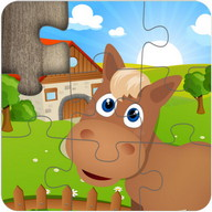 Farm Jigsaw Puzzles for kids & toddlers ???