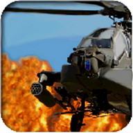 Helicopter war simulator game