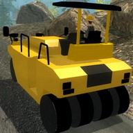 Road Construction Hill Climb