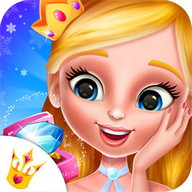 Boda Real de Princesa de Hielo: Salón de Belleza