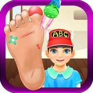 Kids Foot Doctor Games