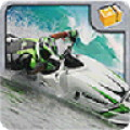 Motoboat racing:Crash