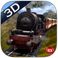 Mountain Train Driving Simulator