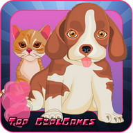 Pet Salon Free - Kids game
