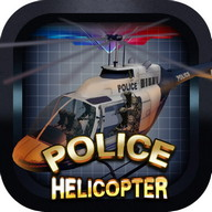 Police Helicopter - 3D Flight