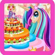 Pony Princess Cake Decoration