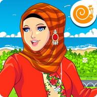 Princess Saffa Hijab Dress Up