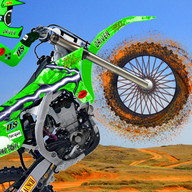 Pro MX Motocross - Give your motorcycle a boost of turbo and beat your rivals!
