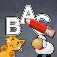 QCat write alphabet ABC (free)