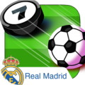 Real Madrid Top Scorer - Bottle cap footy with Real Madrid