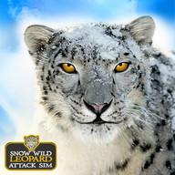 Wild Snow Leopard Attaque Sim